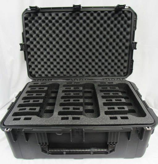 Pelican Air Case 1615 Foam Insert for 15 Handguns - Polyethylene  (FOAM ONLY)