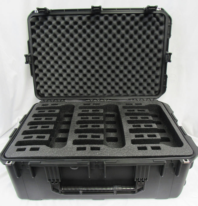 Pelican Air Case 1615 Foam Insert for 15 Handguns - Polyethylene (FOAM ONLY)-Cobra Foam Inserts and Cases
