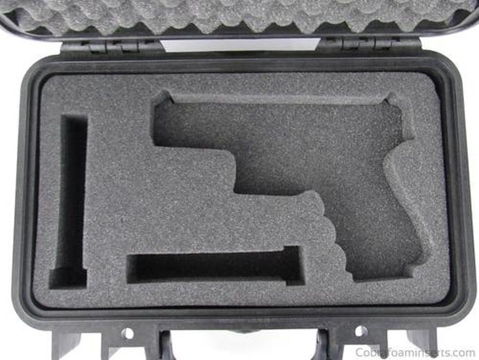 Pelican Case 1170 Custom Foam Insert for Glock 19 & Magazines (FOAM ONLY)-Pelican-Cobra Foam Inserts