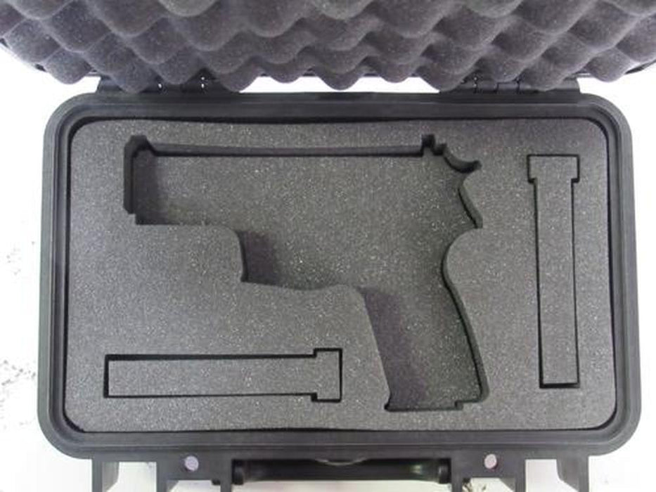 Pelican Case 1170 with Custom Foam Insert for Smith & Wesson M&P 9MM 45 MM With Magazines (Case & Foam)-Pelican-Cobra Foam Inserts