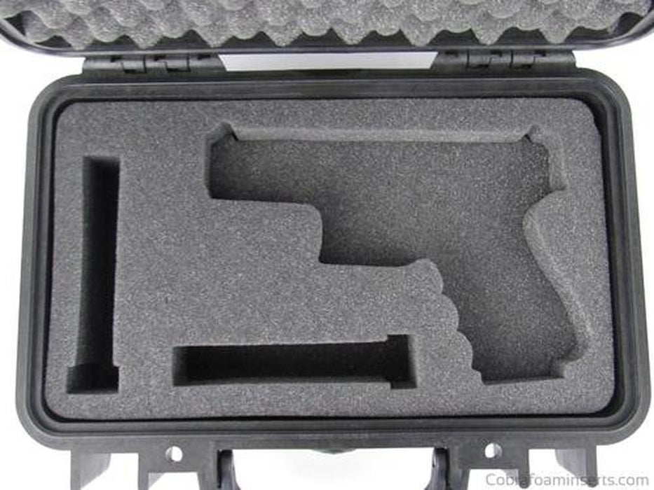 Pelican Case 1170 With Custom Insert for Glock 19 & Magazines-Pelican-Cobra Foam Inserts