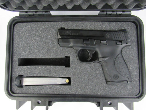 Pelican Case 1170 With Custom Insert for Smith & Wesson Shield 9mm & Magazines-Cobra Foam Inserts and Cases