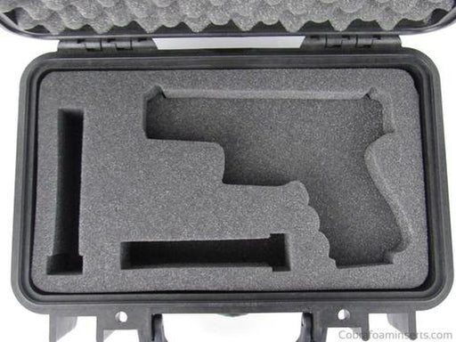 Pelican Case 1170 With Custom Insert for Springfield XD9 & Magazines (CASE & FOAM)-New-Cobra Foam Inserts