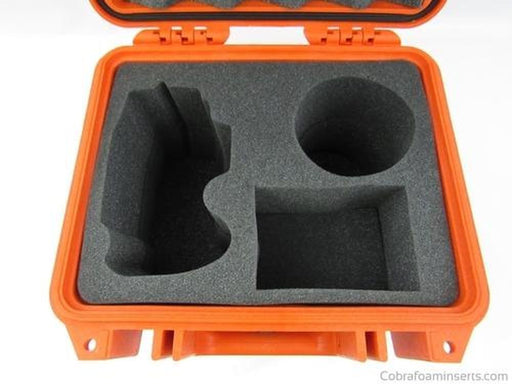 Pelican Case 1300 Custom Foam Insert for Nikon D800/810 Camera with Zoom Lenses