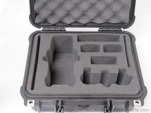 Precut - Pelican Case 1400 Replacement Foam Insert For DJI Mavic Drone Fly More Combo (Foam Only)