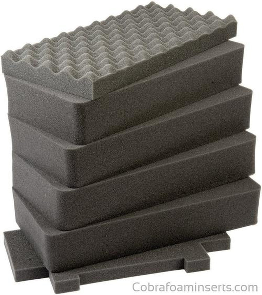 Pelican Case 1440 1441 Replacement Foam Inserts Set (6 Pieces)-Pelican-Cobra Foam Inserts