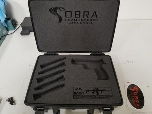 Pelican Case 1470 for Handgun, Magazines and Custom Logo-Pelican-Cobra Foam Inserts