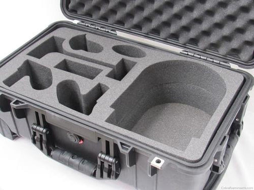 Precut - Pelican Case 1510 With Custom Foam Insert For Oculus Rift - Carry-On With Wheels