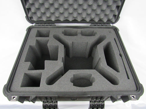 Pelican Case 1610 with Foam Insert for Phantom 3 Drone (Propellers On)-Cobra Foam Inserts and Cases