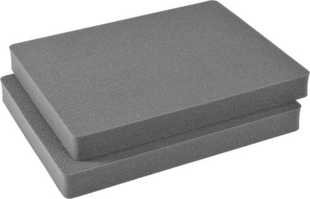 "Pelican Case 1650 1651 Replacement Foam Insert (2 Pieces 4"" Thick Each)-Pelican-Cobra Foam Inserts"