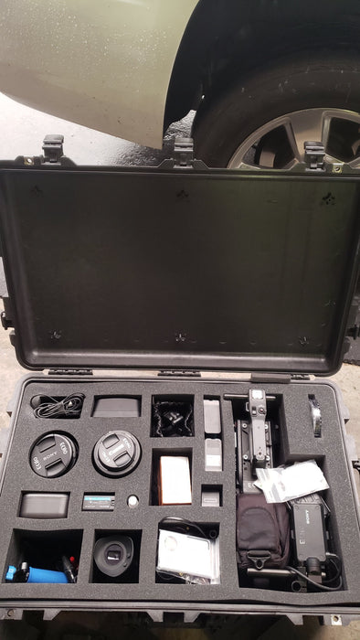 Pelican Case 1650 Foam Insert For Camcorder And Accessories-Cobra Foam Inserts and Cases