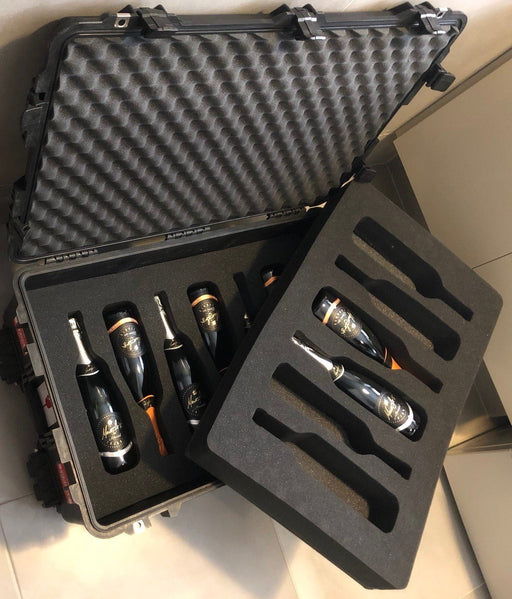 Pelican Air Case 1615 Foam Inserts Set for 12 bottles (FOAM ONLY)-Cobra Foam Inserts and Cases