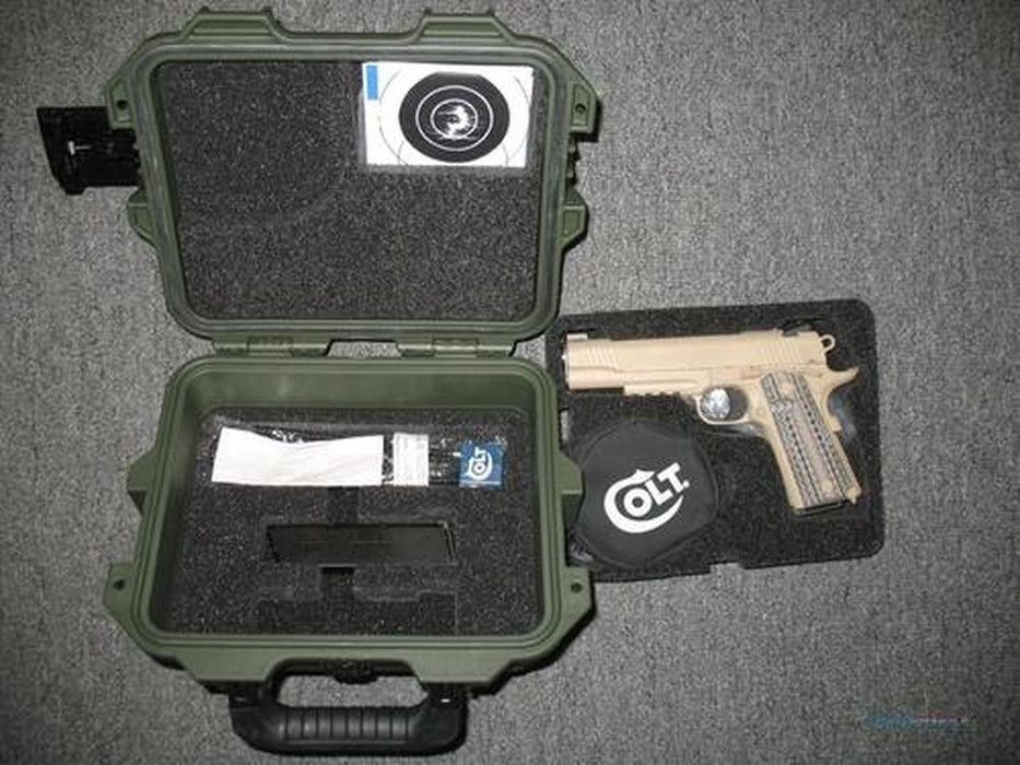 Pelican Storm Case iM 2050 Insert for 1911 Colt Pistol and Magazines (Polyethylene Foam Only)-New-Cobra Foam Inserts