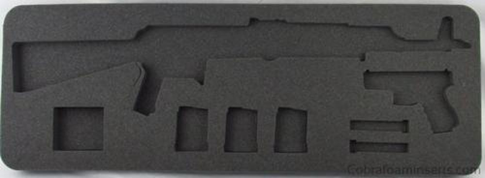 "Rifle/Shotgun - Plano 36"" Case 108361, 362, 364 Foam Insert For AK Rifle And Pistol"