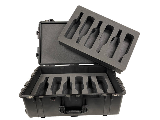 Pelican Case 1650 Foam Insert Set for 12 Bottles (CASE & Foam)