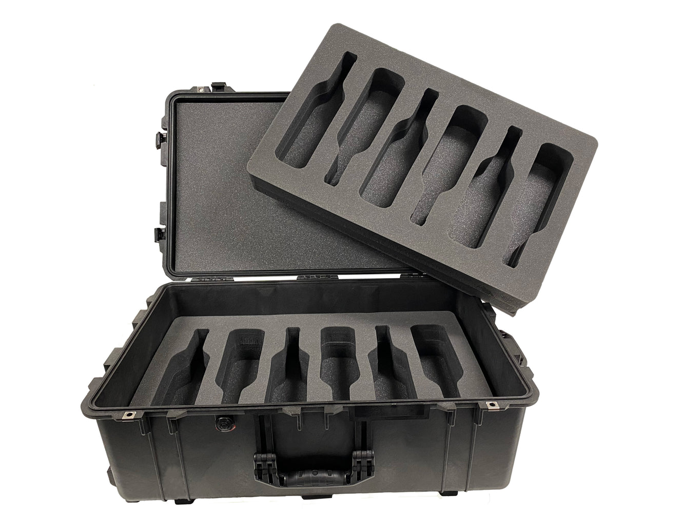 Pelican Air Case 1615 Foam Inserts Set for 12 bottles (FOAM ONLY)