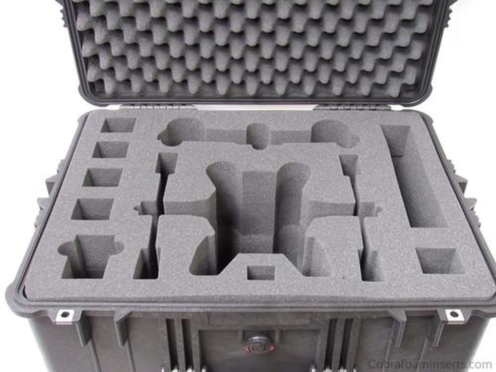 Precut - Yuneec Typhoon H Drone Foam Insert For Pelican Case 2750 (Foam Only)