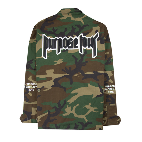 Purpose Tour Military Jacket