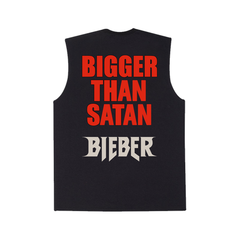 Bigger Than Satan x Bieber Muscle Tank