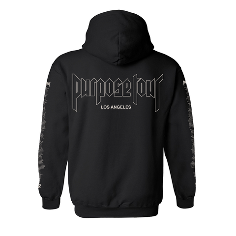 Purpose Tour Los Angeles Hoodie