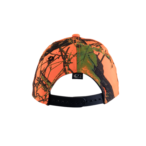 Bieber Miami Orange Camo Trucker Hat