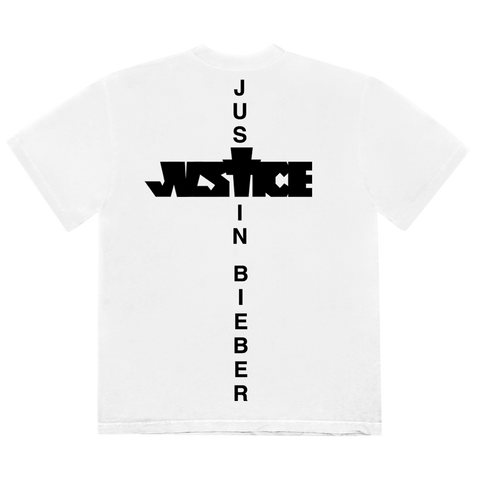 JUSTICE CROSS T-SHIRT