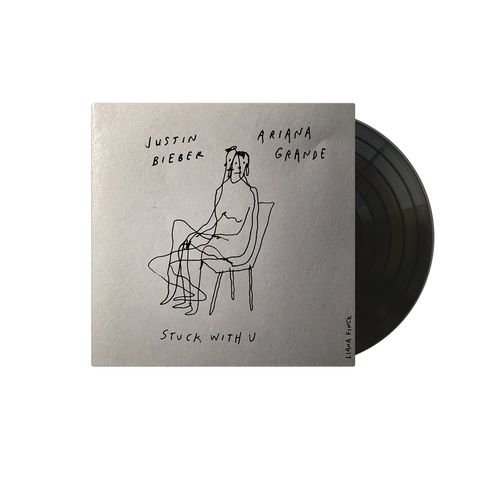 "Stuck with U Alternate Cover Seated 7"" Vinyl + Digital Single"