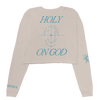Holy Lyrics Cropped LS T-Shirt