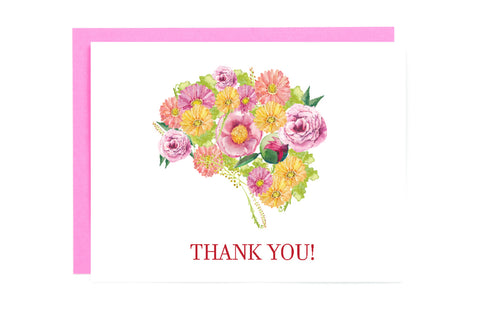 Brain Medical Thank You Card