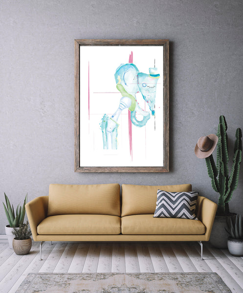 orthopedic surgery wall art