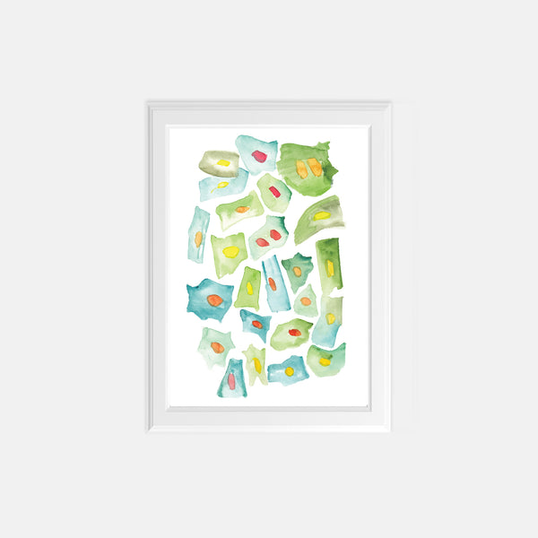 Biology Wall Art Print