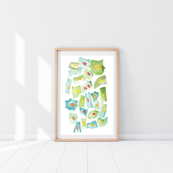 HeLa Cells Art Print