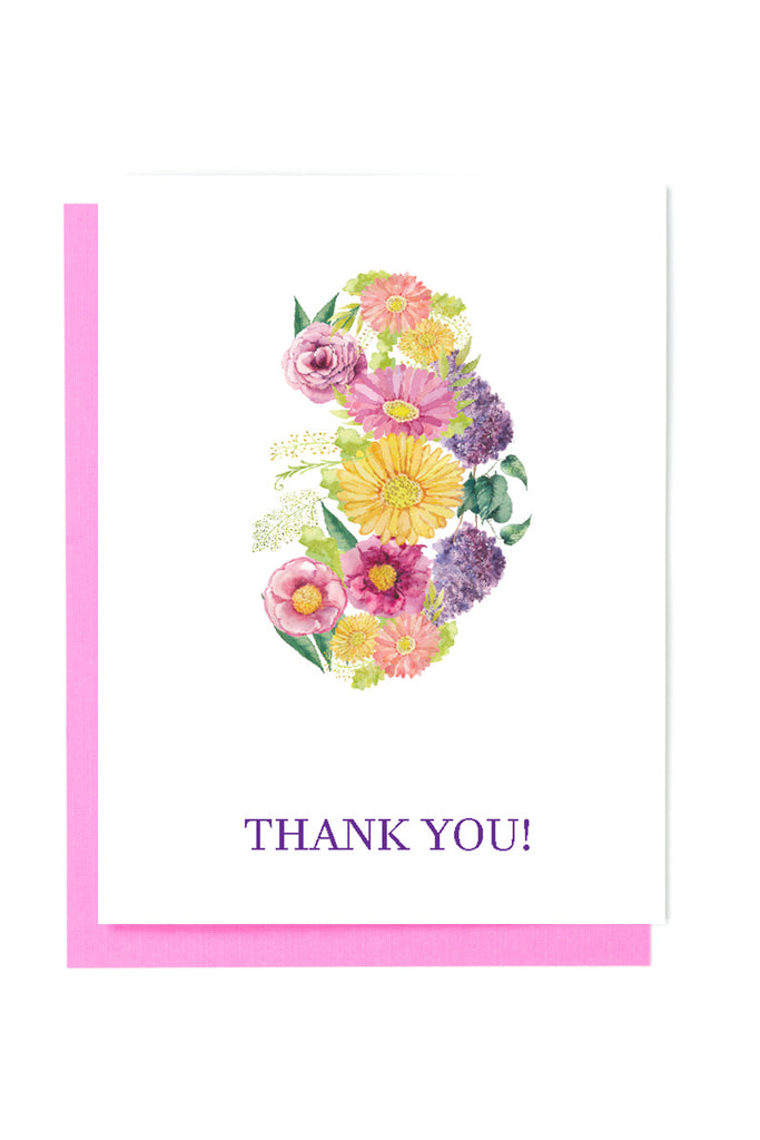 kidney thank you card