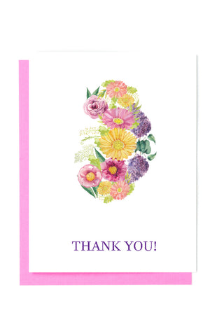 Funny and motivating medical and science cards kidney transplant kidney thank you card m4hsunfo