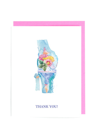 knee surgery thank you card