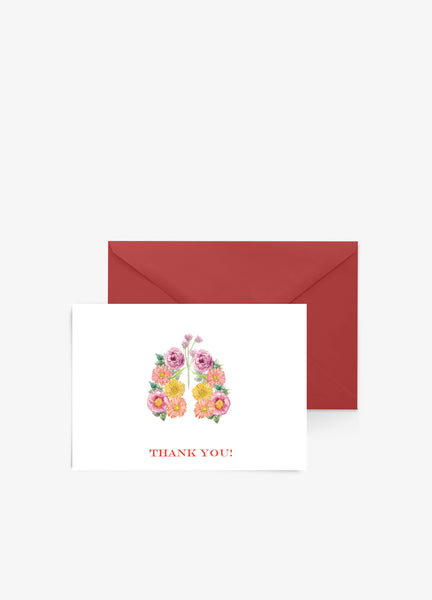 respiratory therapist medical thank you card
