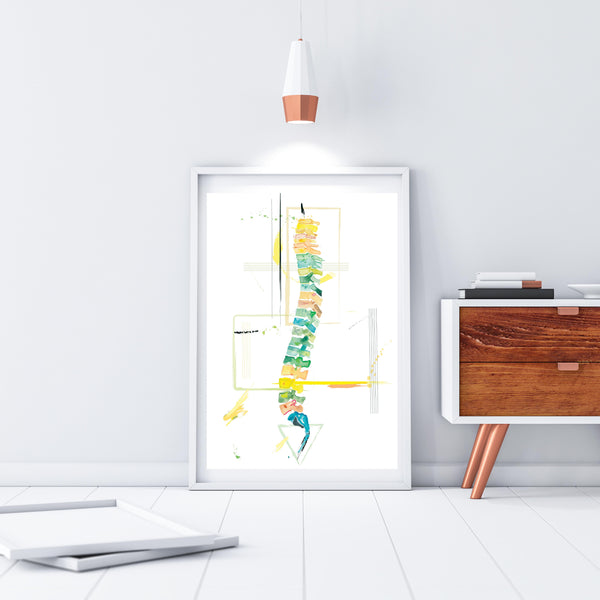 orthopedic spine surgery art