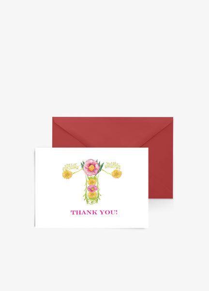 obgyn thank you card