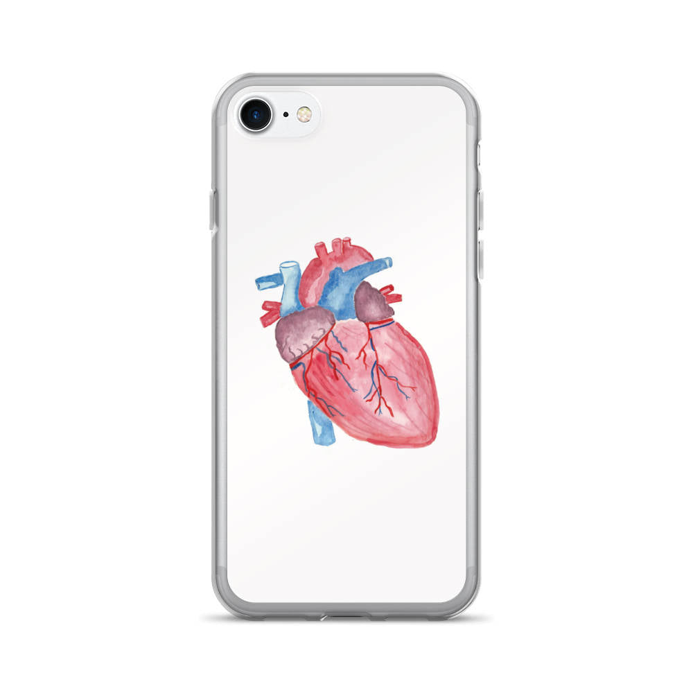 heart anatomy phone case