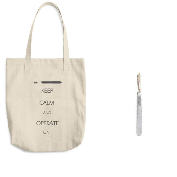 or nurse surgeon tote bag