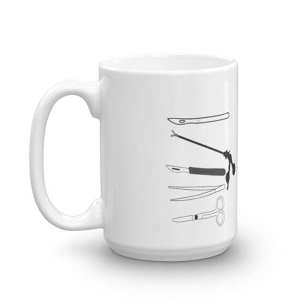 surgical department coffee mug set