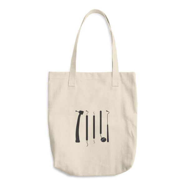 dental instruments tote bag