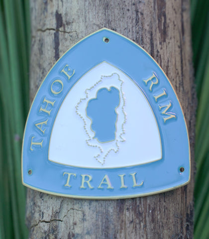 Tahoe Rim Trail - Hiking Staff Medallion
