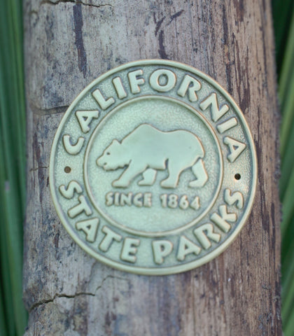 State Park Logo - Hiking Staff Medallion