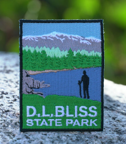 Custom D.L. Bliss State Park Patch