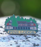 Custom Pine Lodge Pin