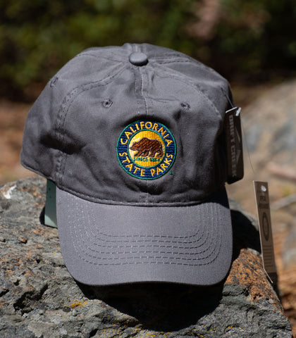 CA State Park Cap - color: Grey