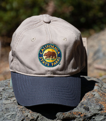 CA State Park Cap - color: Stone/Navy