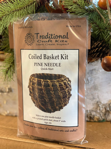 Basket Kit - Pine Needle