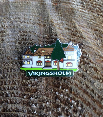 Custom Vikingsholm Pin